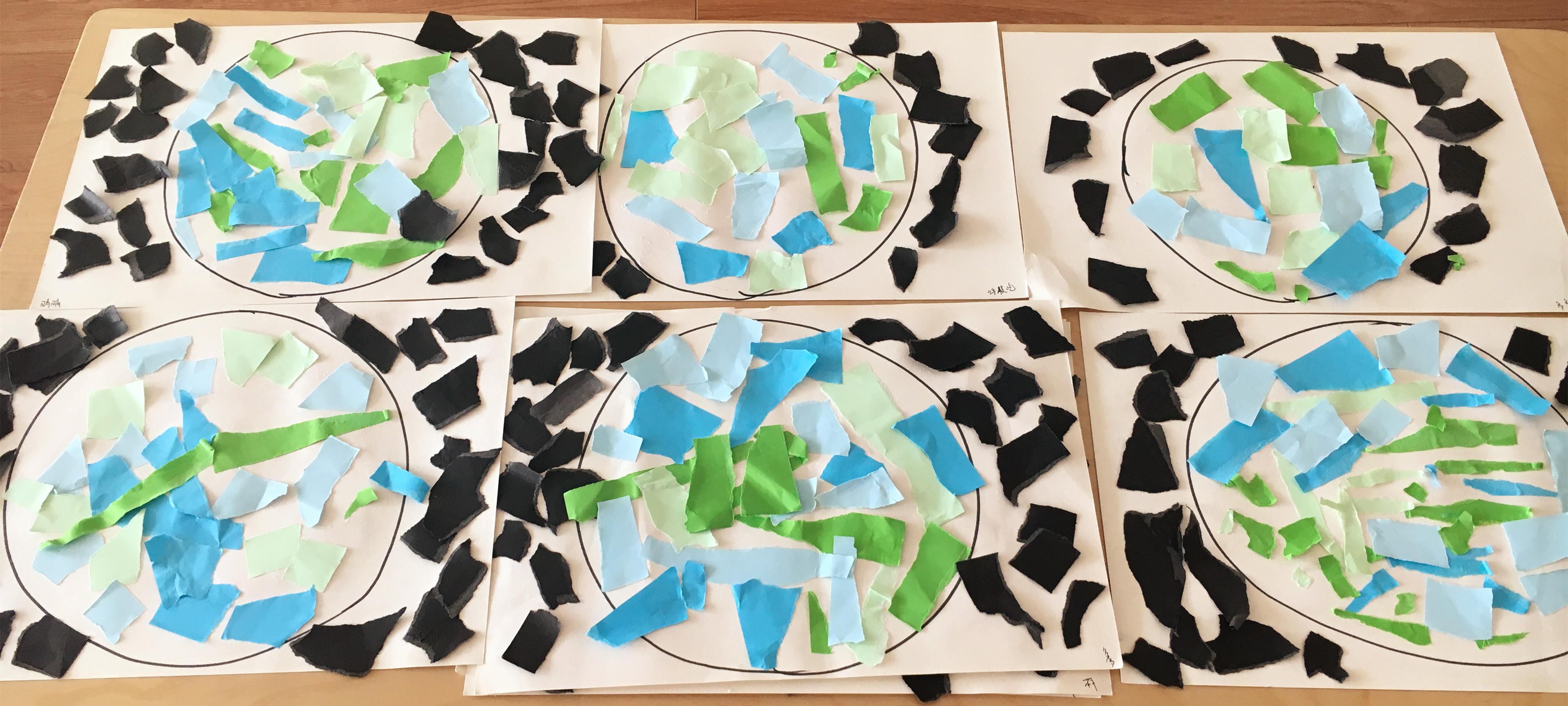 爱护地球,由我做起——金苹果幼儿园世界地球日专题