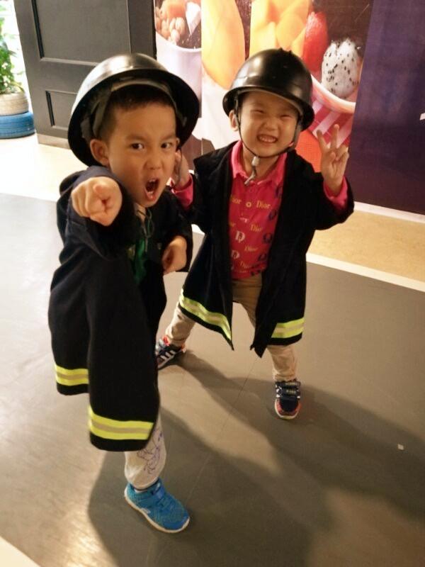幼儿园消防员衣服制作步骤
