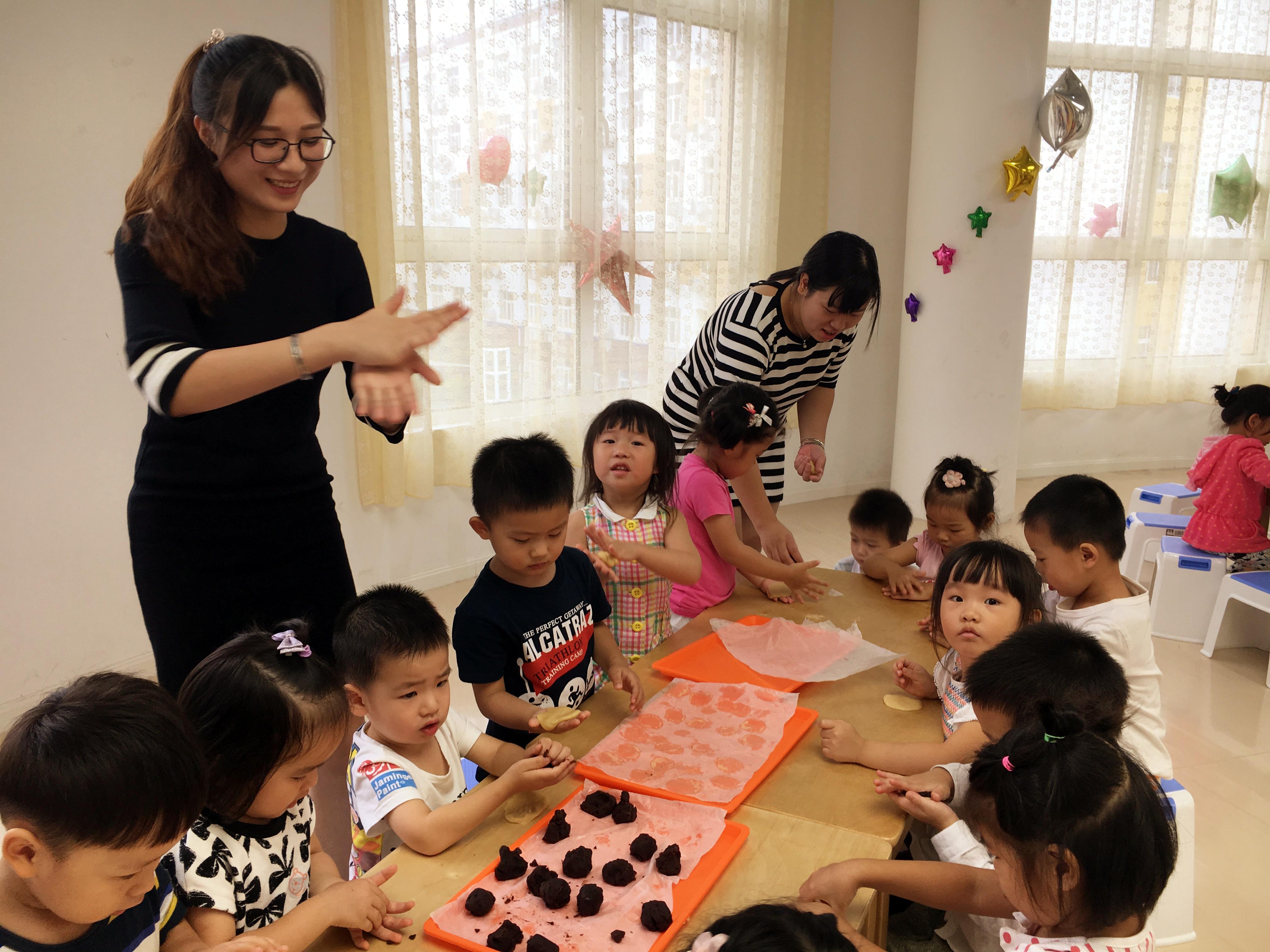 幼儿园小班超轻黏土简单